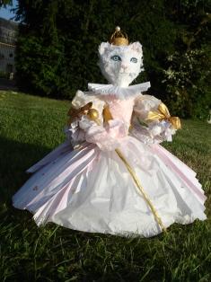 La petite chatte blanche de la contesse d'Aulnoy